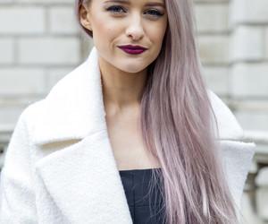 dark lips, hair, and inthefrow image