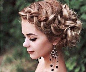 beautiful, earrings, and fashion image