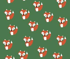 fox, wallpaper, and green image