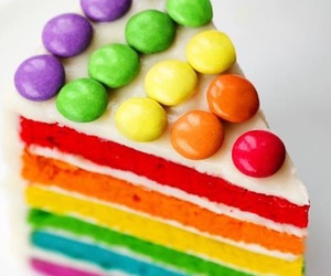 cake, colors, and cool image
