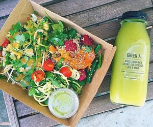 health, healthy, and salad image