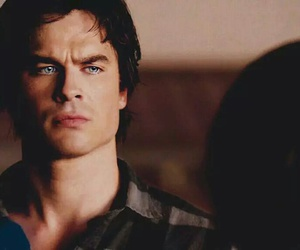 damon, Hot, and vampire image