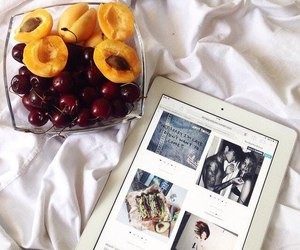 apricot, delicious, and bed image