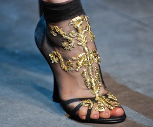 detail, YSL, and fashion show image