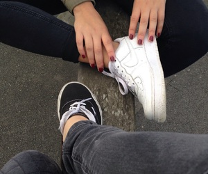 best friends, grunge, and shoes image