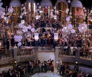 party, movie, and the great gatsby image