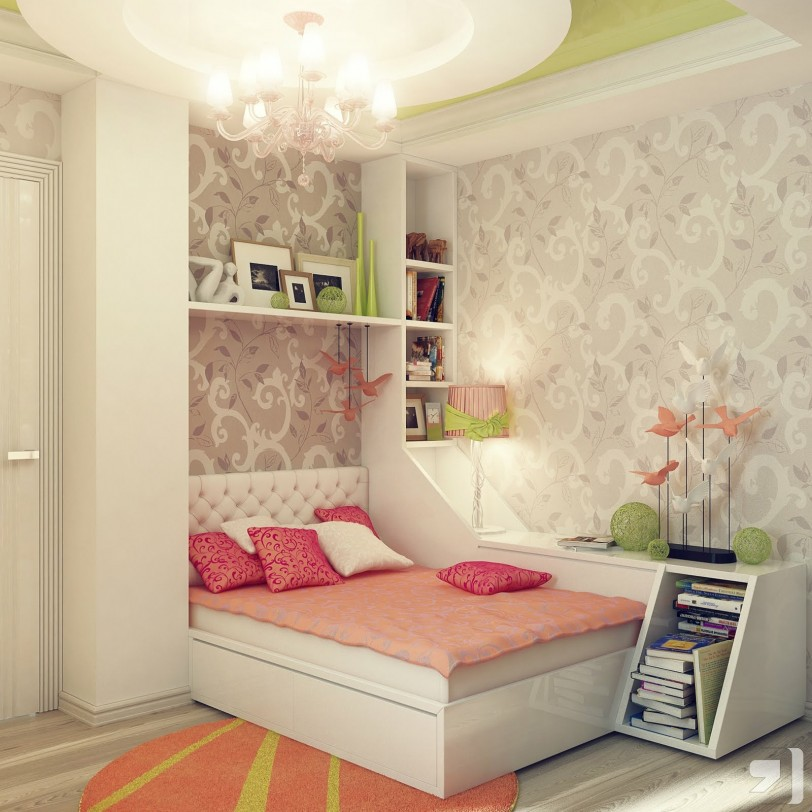 Beautiful Little Girl Rooms Idea House Design Pictures ...