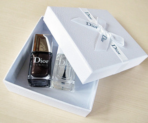 cosmetics, dior, and fashion image