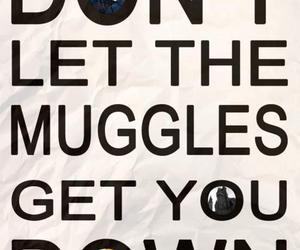 harry potter, muggles, and magic image