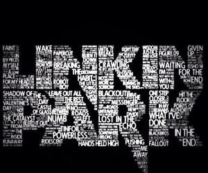 band, linkin park, and music image