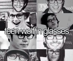 teen wolf, dylan o'brien, and glasses image