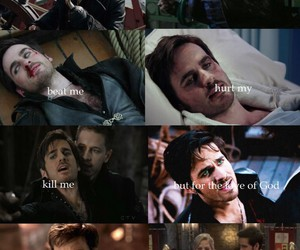 once upon a time, love, and captain swan image
