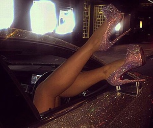luxury, car, and shoes image