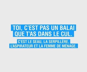 french, funny, and quote image