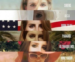 lana del rey, paradise, and honeymoon image