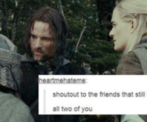 lord of the rings, sad but true, and LOTR image