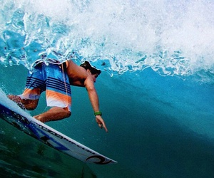 waves, surf, and gabriel medina image