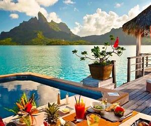 summer, sea, and food image