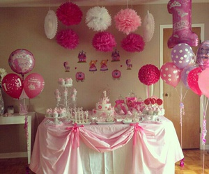 birthday, decorations, and party image