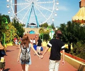 amusement park, boy, and boys image