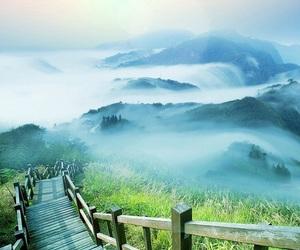 art, beautiful, and fog image