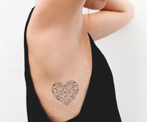 body, girl, and heart image