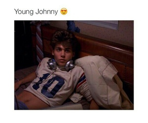 Hot, johnny depp, and young johnny image