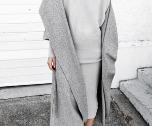 fashion, grey, and style image