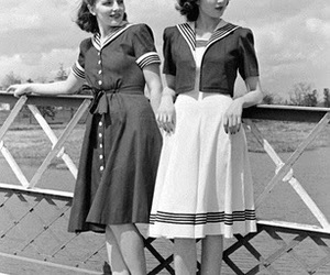 vintage and girls image