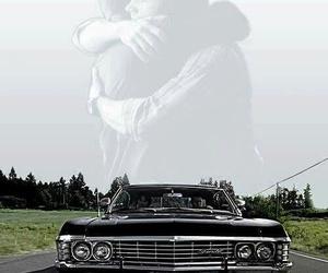 supernatural, dean, and impala image