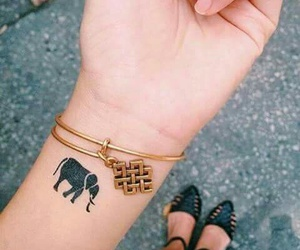 accessories, elephant, and black image