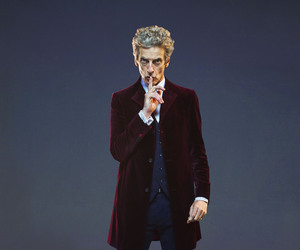 doctor who and peter capaldi image