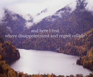 quote, death cab for cutie, and regret image