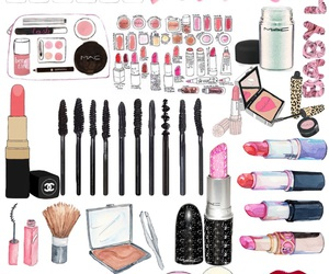 background, makeup, and mac image