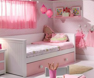 kawaii, pink, and room image