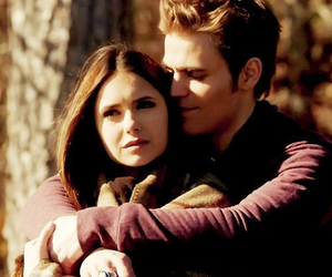 stelena, tvd, and the vampire diaries image