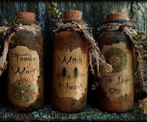 potion, bottle, and Halloween image