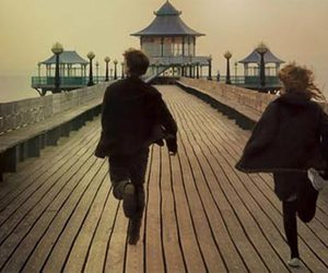 never let me go, run, and movie image
