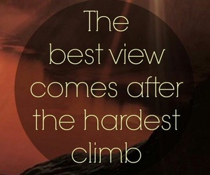 quotes, climb, and life image