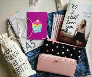 college, cute, and notes image