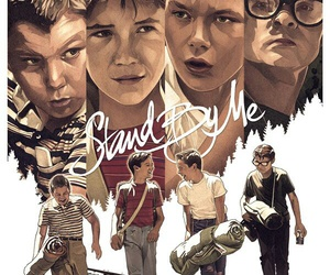 stand by me, movie, and poster image