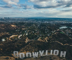 hollywood and sky image