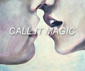 magic, kiss, and love image