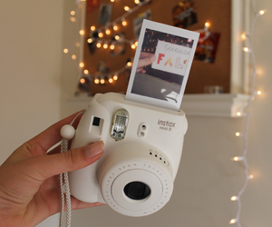 polaroid, camera, and decor image
