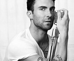 adam levine, maroon 5, and sexy image