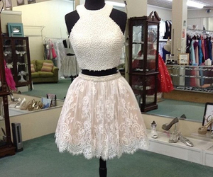 lace dresses, homecoming 2015, and two-piece image