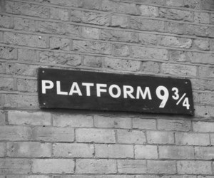 harry potter, platform, and harry image