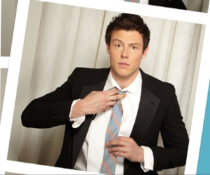 glee, lovely, and cory monteith image