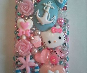 heart, hello kitty, and pink image
