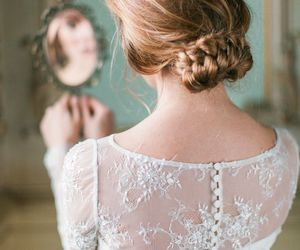 fashion, hair, and wedding image